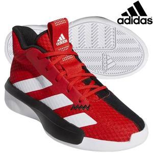 アディダス adidas Pro Next K EF0855 ジュニア バスケットボールシューズ バスケシューズ バッシュ ミニバス 練習 試合 レッド ホワイト 子供|futabaathlete