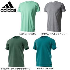 アディダス adidas クライマチルストライプ Tシャツ MKJ03 メンズ スポーツウェア|futabaathlete