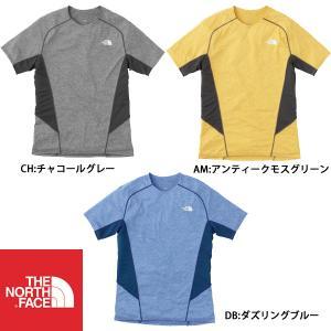 ノースフェイス THE NORTH FACE ランニング シャツ ショートスリーブGTDメランジクルー(メンズ) NT61676|futabaathlete