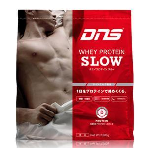 DNS ディーエヌエス プロテイン スロー 1kg WHEY PROTEIN SLOW 1000g|futabaathlete
