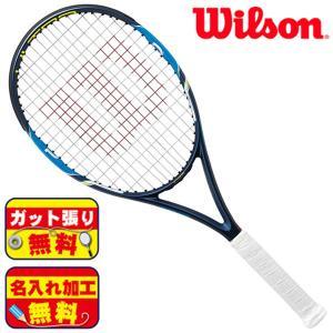 ガット張り&マーク加工無料!ウィルソン wilson ウルトラ 103 S WRT729810 硬式 テニスラケット|futabaathlete