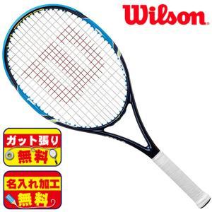 ガット張り&マーク加工無料!ウィルソン wilson ウルトラ 108 WRT729910 硬式 テニスラケット|futabaathlete
