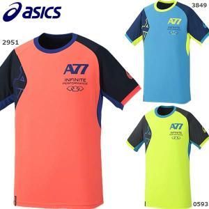 アシックス ASICS A77Tシャツ  XA114N ランニング Tシャツ ジョギング ランニングウェア メンズ|futabaathlete