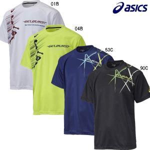 アシックス asics XB968N プリントTシャツHS バスケットボール シャツ|futabaathlete