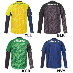 アスレタ ATHLETA プラシャツインナーセット 02299J ジュニア サッカー フットサルウェア ロングインナーシャツ 半袖プラシャツセット futabaharajuku 02