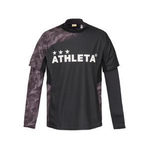 アスレタ ATHLETA プラシャツインナーセット 02299J ジュニア サッカー フットサルウェア ロングインナーシャツ 半袖プラシャツセット futabaharajuku 03