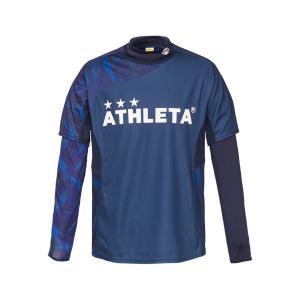 アスレタ ATHLETA プラシャツインナーセット 02299J ジュニア サッカー フットサルウェア ロングインナーシャツ 半袖プラシャツセット futabaharajuku 04