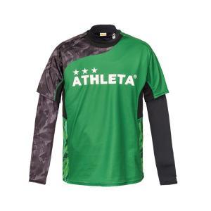 アスレタ ATHLETA プラシャツインナーセット 02299J ジュニア サッカー フットサルウェア ロングインナーシャツ 半袖プラシャツセット futabaharajuku 05