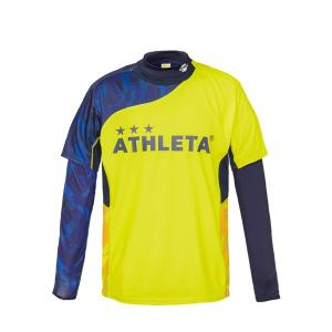 アスレタ ATHLETA プラシャツインナーセット 02299J ジュニア サッカー フットサルウェア ロングインナーシャツ 半袖プラシャツセット futabaharajuku 06