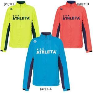 アスレタ ATHLETA 裏メッシュ トレーニングジャケット フルジップ 裏地付きウインドジャケット  02304|futabaharajuku
