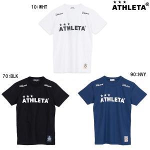 アスレタ ATHLETA 定番ロゴTシャツ 03015M サッカー フットサル Tシャツ 半袖|futabaharajuku