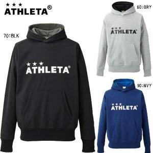 アスレタ ATHLETA サッカー ジュニア 防風ウォームスウェットパーカー 03285J|futabaharajuku