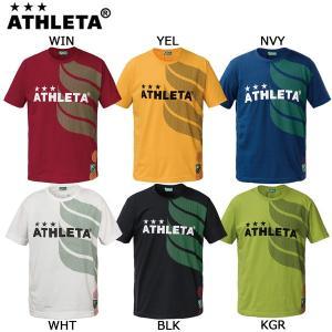 アスレタ ATHLETA カフェブラロゴTシャツ 03293J サッカー フットサルウェア ジュニア|futabaharajuku