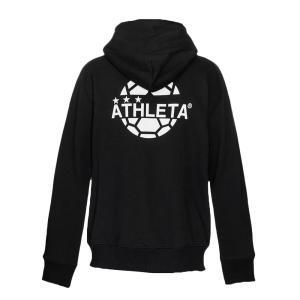 アスレタ ATHLETA JRスウェットZIPパーカー 03328J ジュニア サッカー フットサル カジュアルウェア パーカー フード付き フルジップ 2019秋冬|futabaharajuku|03