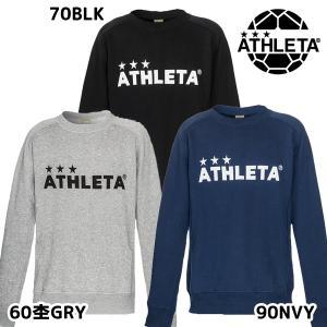アスレタ ATHLETA JRスウェットシャツ 03330J ジュニア サッカー フットサル カジュアルウェア トレーナー 2019秋冬|futabaharajuku