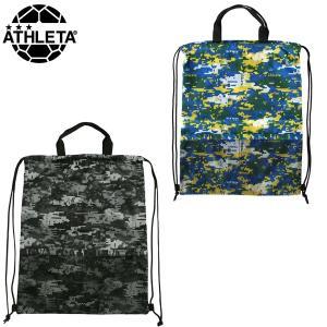 アスレタ ATHLETA サッカー フットサル デジタル迷彩ランドリーバッグ 05159 ジムサック|futabaharajuku