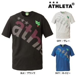 2018年NEW アスレタ ATHLETA BIGロゴTシャツ 08163 サッカー フットサルウェア レディース|futabaharajuku