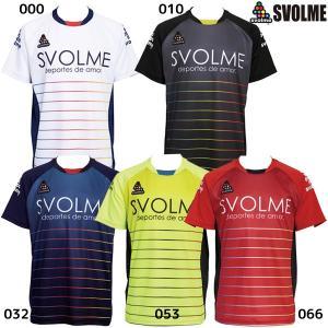 スボルメ SVOLME Jr. ボーダーTRトップ 1191-23200 ジュニア サッカー フット...