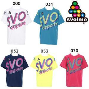 スボルメ SVOLME JrロゴTRトップ 1193-33800 ジュニア サッカー フットサル プ...