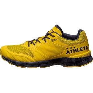 アスレタ ATHLETA O−Rei Running 13003 メンズ ランニングシューズ ラントレ 走り込み イエロー ブラック 黄色 黒 オーヘイ 2019年春夏|futabaharajuku|02