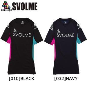 スボルメ SVOLME 半袖インナー 161-73303 サッカー フットサル インナーシャツ 半袖 メンズ レディース|futabaharajuku