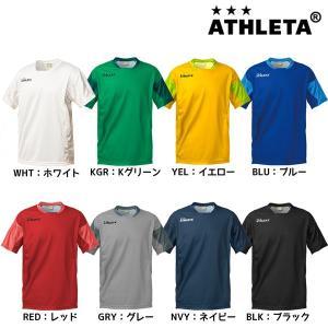 アスレタ ATHLETA 定番チーム対応ゲームシャツ 18001 サッカー フットサルウェア メンズ|futabaharajuku