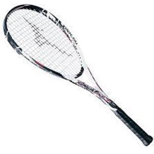 ミズノ 軟式/ソフト テニスラケット テクニクス 200 ガット張り上げ済 63JTN56509|futabaharajuku