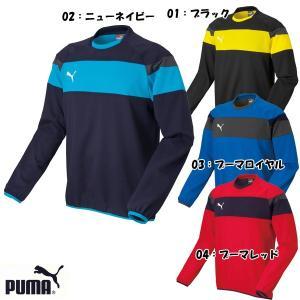 プーマ ジュニア サッカー ピステウェア TT SPIRIT 2 ジュニアピステトップ 654811|futabaharajuku