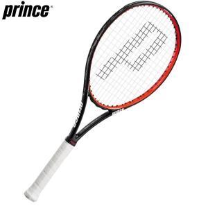 プリンス Prince ハリアー プロ 100T  7TJ019 ブラック×レッド テニス ラケット