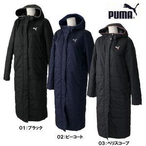 プーマ レディース ベンチコート 中綿ロングコート 920199|futabaharajuku