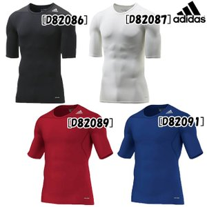 インナーシャツ 半袖 アディダス テックフィット TF BASE 半袖Tシャツ AJ450 アンダーシャツ サッカー インナー adidas|futabaharajuku