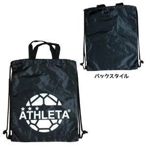 アスレタ ATHLETA マルチバッグ サッカー フットサル ジムサック ナップサック 通学 練習通い 2019年モデル futabaharajuku