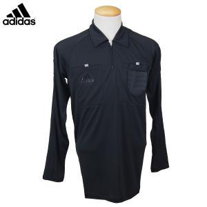 アディダス adidas サッカー 審判用ウェア レフェリーベーシックシャツ L/S 長袖 DRR92-CF9936|futabaharajuku