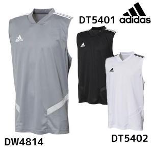アディダス adidas TIRO19 スリーブレス トレーニングシャツ FJU33 メンズ サッカ...