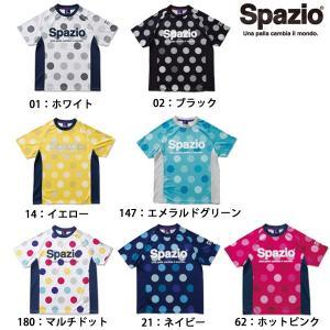 スパッツィオ SPAZIO GE-0378 ジュニア DOT8 プラクティスシャツ サッカー フットサル ウェア|futabaharajuku