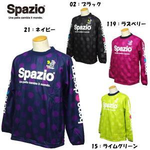 スパッツィオ サッカー フットサル ピステシャツ 裏起毛 GE0225|futabaharajuku