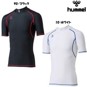ヒュンメル hummel メンズ サッカー コンプレッション 半袖インナーシャツ HAP5136|futabaharajuku