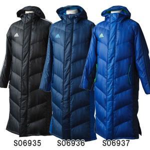 アディダス adidas サッカー ベンチコート SHADOW ロング ダウンコート JDP35|futabaharajuku
