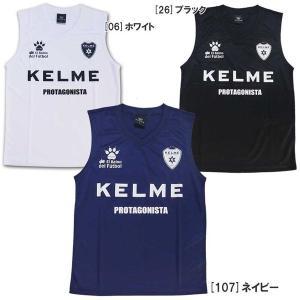 ケルメ サッカー インナーシャツ ノースリーブ Vネック フットサル KX1033S|futabaharajuku