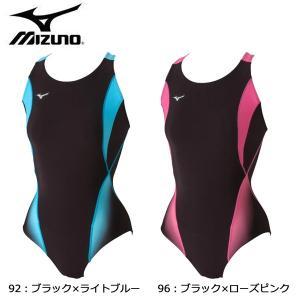 ミズノ MIZUNO ワンピース ピースバック N2JA5301 水着 フィットネス レディース|futabaharajuku