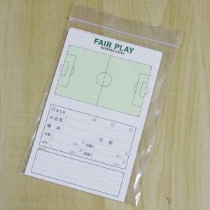 オリジナル サッカー 審判用 記録カード 30枚入り レフェリー カード 審判用品|futabaharajuku|02