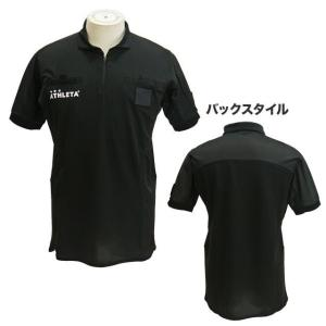 サッカー 審判服 審判着 レフェリーウェア アスレタ ATHLETA サッカー レフリーシャツ 半袖 SP-150 メンズ|futabaharajuku