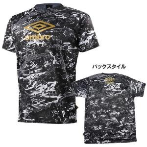 アンブロ サッカー プラクティスシャツ GACH1-TR Tシャツ 半袖 UBS5700GT|futabaharajuku