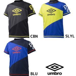 アンブロ UMBRO ジュニアロゴプラシャツ UBS7763K サッカー ウェア キッズ|futabaharajuku