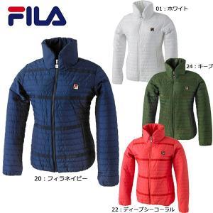 フィラ FILA 中綿ジャケット VL1337 テニス ウィメンズ レディース ショートコート|futabaharajuku