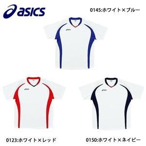アシックス asics プラクテスシャツJR XS3124 サッカー ジュニア ウェア 半袖|futabaharajuku