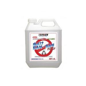 虫よけBAN・BAN 4L 【つやげん】虫よけ成分配合樹脂仕上剤|futakawaya