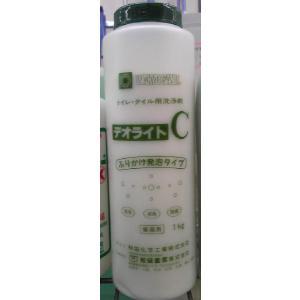デオライトC 酸性顆粒状 【和協産業】 タイル除菌漂白洗浄剤 futakawaya