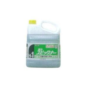 強力スピックナー 4Kg ×4(1ケース) 【ニイタカ】 業務用店舗用強力洗剤|futakawaya