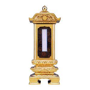 位牌  純前金 柱付二重過去帳回出位牌 別上塗 5.0|futakiya-shop